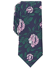 Men's Floral Skinny Tie, Created for Macy's