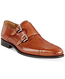 Men's Rocky Texture Double Monk-Strap Shoes