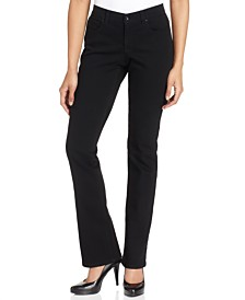 Style & Co Petite Tummy-Control Mid-Rise Bootcut Jeans, Created for Macy's