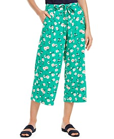 Petal-Print Culotte Pants, Created for Macy's