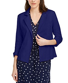 3/4 Sleeve Knit Blazer, Created for Macy's
