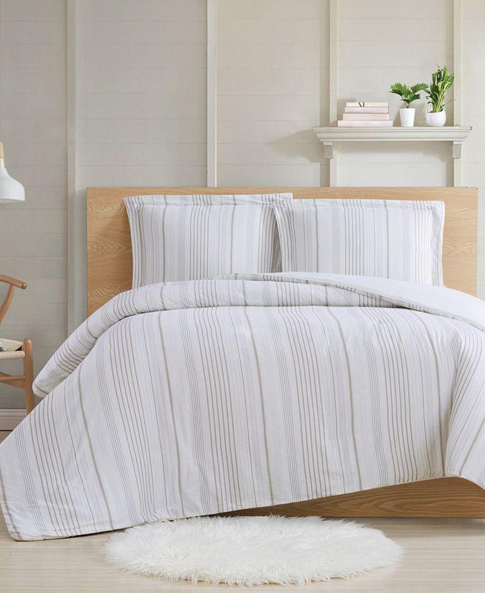 Cottage Classics - Farmhouse Stripe 2-Piece Twin XL Comforter Set