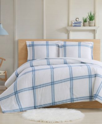 Farmhouse Plaid 2-Piece Twin XL Comforter Set
