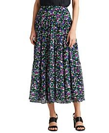 Floral Peasant Skirt