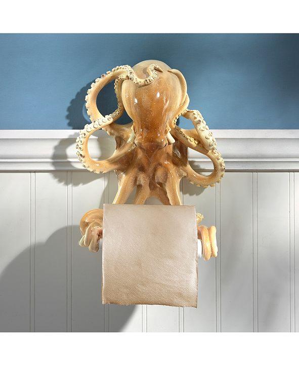 Design Toscano Tentacles Bathroom Toilet Paper Holder