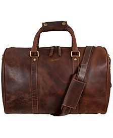 Leather Overnight or Gym Bag