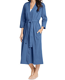 Jockey Long Cotton Wrap Robe