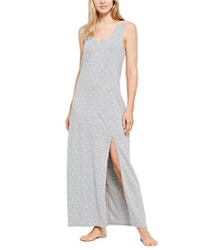 Women's Dot-Print Nightgown