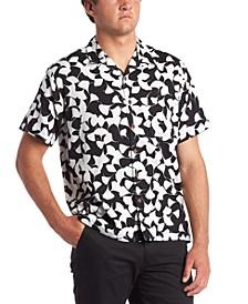 Quiksilver Men's Flow Flower Short Sleeve Shirt