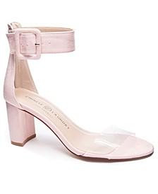 Reggie Block Heel Dress Sandals
