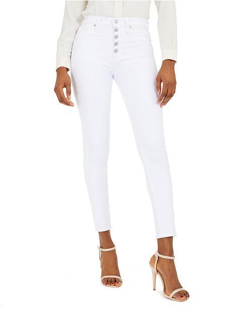 Hudson Jeans Barbara High-Waist Super Skinny Jeans