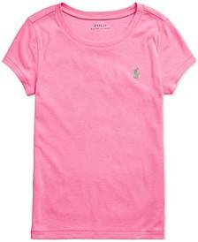 Big Girls Cotton-Modal Crewneck T-Shirt