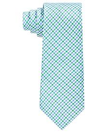 로렌 랄프로렌 보이즈 넥타이 Lauren Ralph Lauren Big Boys Micro-Check Silk Tie,Green