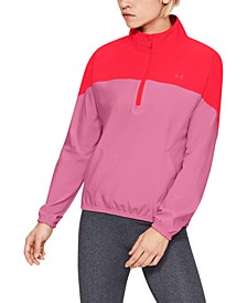 Women's Storm Half-Zip Woven Jacket