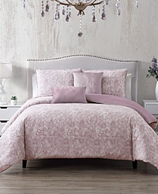 CLOSEOUT! Parfait 6-Pc. Queen Duvet Cover with Filler Set