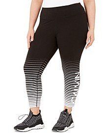 Plus Size Logo Leggings