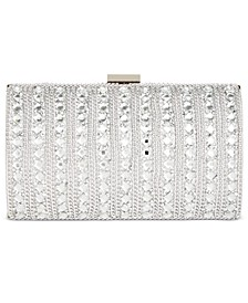 INC Ranndi Crystal Gem Clutch, Created for Macy's