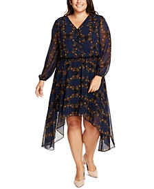 Trendy Plus Size Smocked-Waist Dress