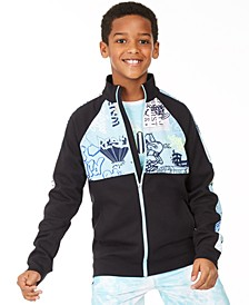 Big Boys Graffiti Track Jacket, Created for Macy's