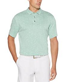 Men's Textured Golf Polo