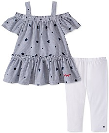 Toddler Girls 2-Pc. Star Tunic & Leggings Set