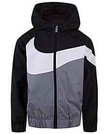 Little Boys Oversized Swoosh Windrunner Jacket