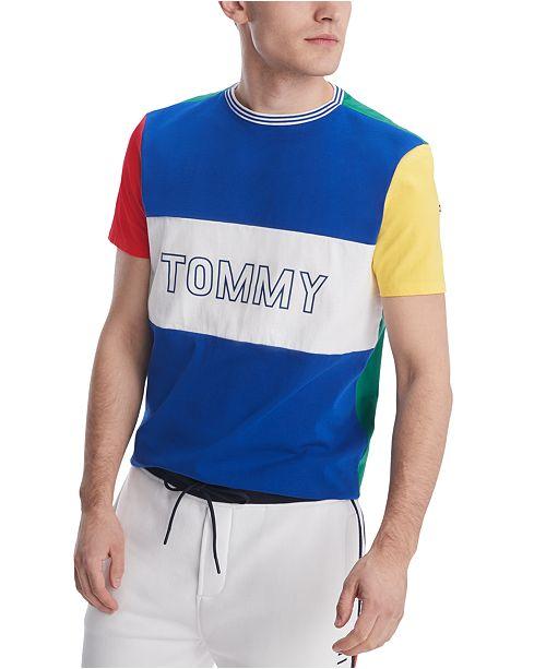 Tommy Hilfiger Men's Aquasail Colorblock T-Shirt