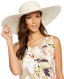Super Floppy Hat With Braided Trim