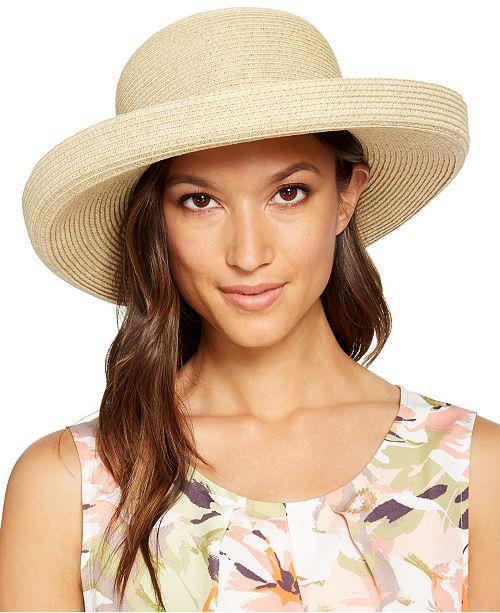 Nine West Round Crown Kettle Hat
