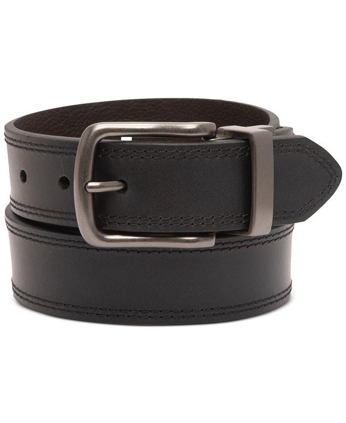 Levi's - Men's Embossed Reversible Belt