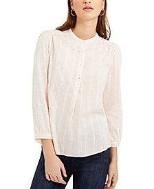 Woven Button-Down Shirt