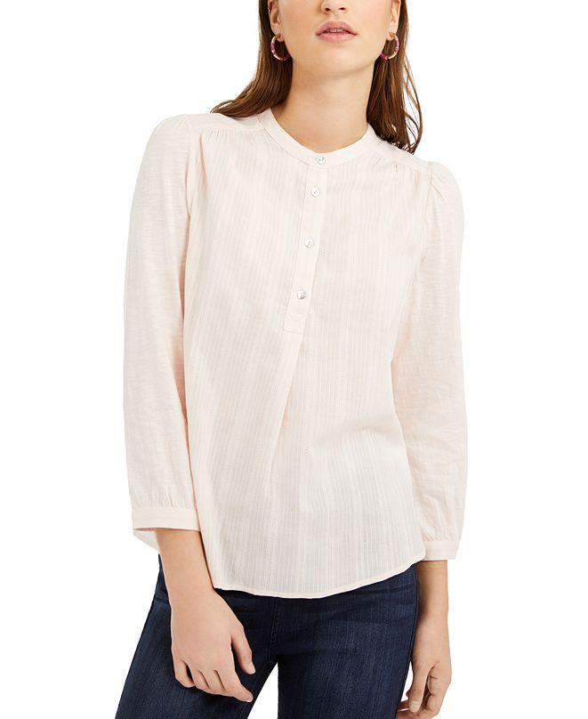 Lucky Brand Woven Button-Down Shirt