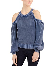 INC Cold-Shoulder Sweater, Created for Macy's