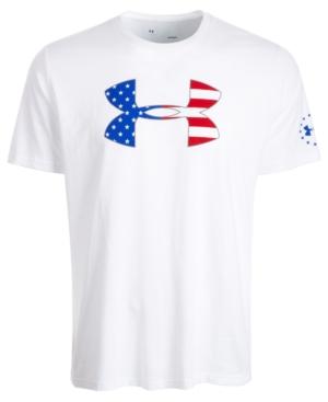 Under Armour T-shirts MEN'S PRINTED-LOGO T-SHIRT