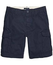 Men's Classic Cargo Shorts with Velcro® Closure and Magnetic Fly