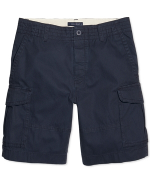 Tommy Hilfiger Adaptive Men's Classic Cargo Shorts with Velcro Closure and Magnetic Fly
