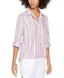 Printed Pullover Shirt