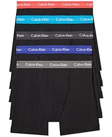 Men's Cotton Stretch Boxer Briefs 5-Pack