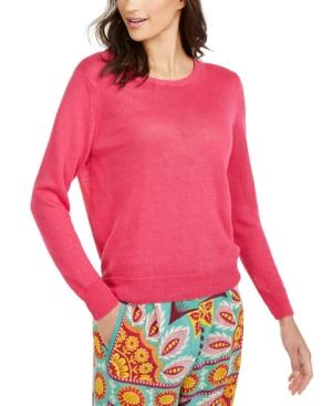Weekend Max Mara Bobbio Wool & Cashmere Sweater In Pink