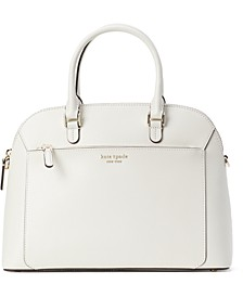 Louise Leather Dome Satchel