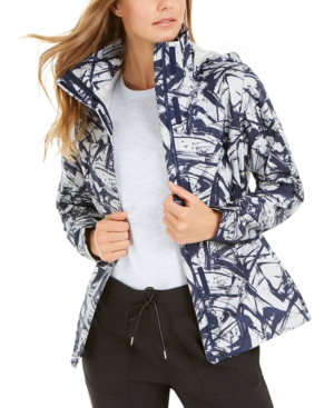 PreCip Eco Printed Hooded Jacket