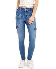 Junior's Skinny Cargo Jeans