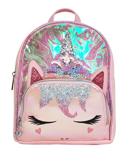 OMG! Accessories Toddler, Little and Big Kids Princess Miss Gwen Unicorn Clear Mini Backpack