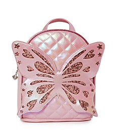 Toddler, Little and Big Kids Miss Butterfly Quilted Mini Backpack