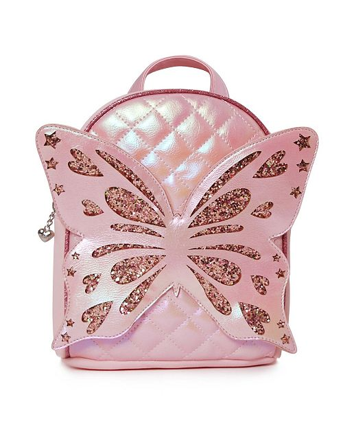 OMG! Accessories Toddler, Little and Big Kids Miss Butterfly Quilted Mini Backpack