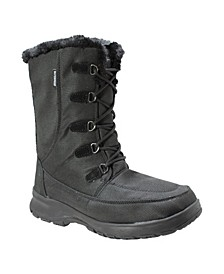 Womens Water-resistant Upper Winter Boot