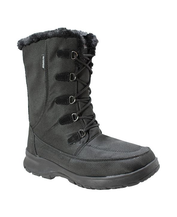 AdTec Womens Water-resistant Upper Winter Boot