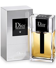 Receive a Complimentary Dior Homme EDT Mini Deluxe with any large spray purchase from the Dior Men's Fragrance Collection