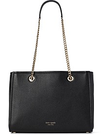 Amelia Leather Tote