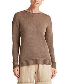 Petite Gold-tone Sweater